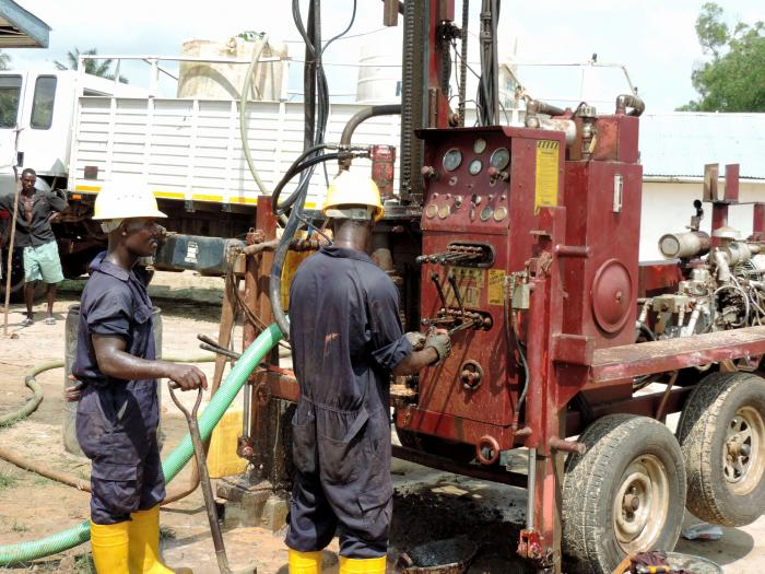 Drilling Machine - New Toilet Block