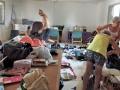 Unpacking the Sewing Stuff