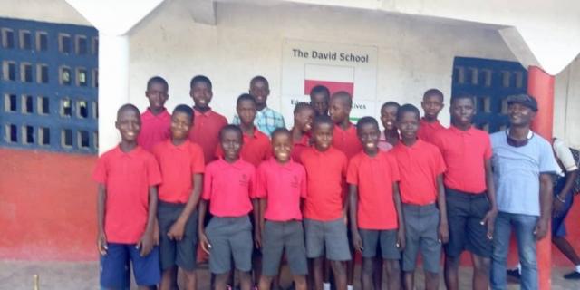 class 5 boys
