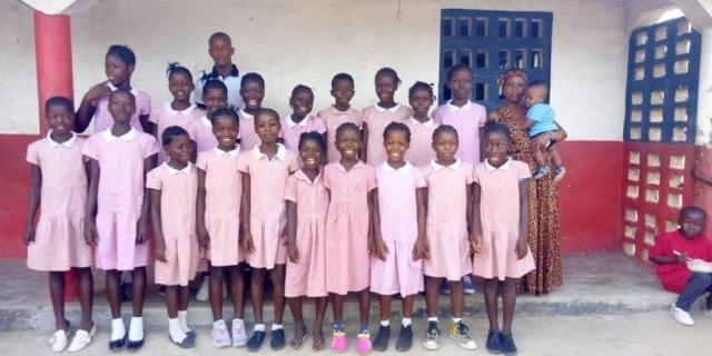 class 4 girls