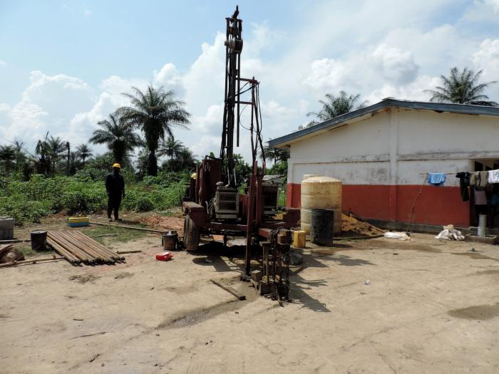 Drilling Machine - New Toilet Block
